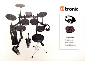 DTRONIC ELECTRONIC DRUM KIT