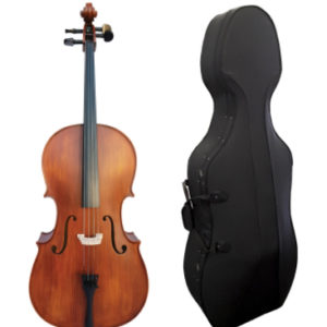 Vivo 4/4 size Cello with Hard Foam Case